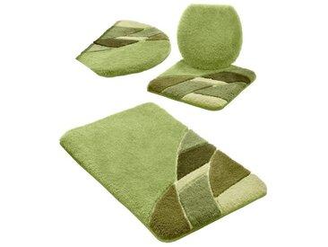 Hagemann Badematte , Höhe 20 mm, grün, grün