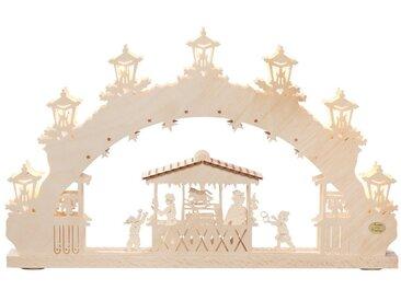 SAICO Original 3D-Lichterbogen Weihnachtsmarkt, natur, Natur