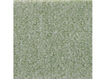 Bodenmeister BODENMEISTER Teppichboden »Velours gemustert«, Meterware, Breite 400/500 cm, grün, grün/mint
