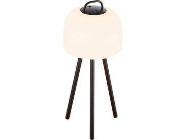 Nordlux LED Stehlampe »Kettle 36 Tripod 31 Metall«, inkl. LED, Batterie, integrierter Dimmer, Außen und Innen