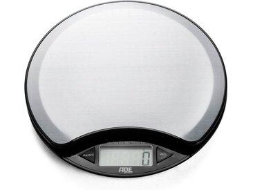 ADE Küchenwaage »KE 854 - Anja«, digitale Waage mit Edelstahl-Wiegefläche und Raumthermometer