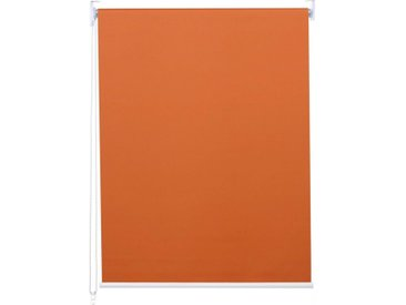 MCW Seitenzugrollo »-D52-100x160«, abdunkelnd, verschraubt, blickdicht, Kettenzug inkl. Kindersicherung, Stufenlose Bedienung, Thermobarriere, orange