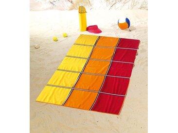 Gözze Strandtuch »Karo« (1-St), mit fröhlichen Farben