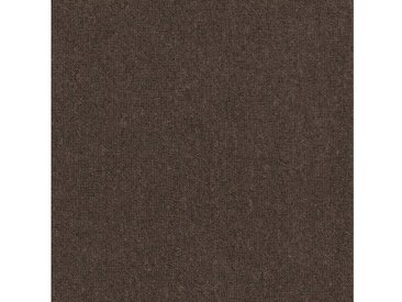 Set: Teppichfliese »Jersey«, selbstliegend, braun, dunkelbraun