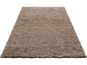 Home affaire Hochflor-Teppich »Viva«, rechteckig, Höhe 45 mm, braun, caramel