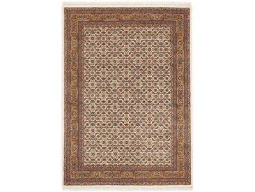 OCI DIE TEPPICHMARKE Orientteppich »Himla Herati«, rechteckig, Höhe 20 mm, handgeknüpft, 100 % Wolle, mit Fransen, rot, creme-beige