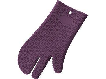 Kochblume Topfhandschuhe »Silikon Handschuh«, Hitzebeständig bis 230°, lila, lila