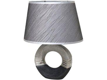 Dekohelden24 Nachttischlampe »Edle Designer Tischlampe / Wohnzimmerlampe / Nacht«