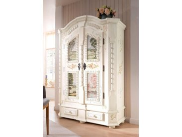 Premium collection by Home affaire Kleiderschrank »Sophia« in zwei unterschiedlichen einzigartigen Ausführungen der Schrankfronten, Höhe 187 cm, weiß