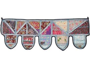 Guru-Shop Wandteppich »Orientalischer Wandbehang, indischer Toran,..«, Höhe 30 mm, Design 12