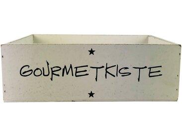 Parts4Living Holzkiste »Antikholz Aufbewahrungskiste Geschenkkiste weiß 30x20x10 cm«