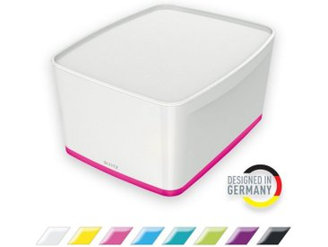 LEITZ Aufbewahrungsbox »WOW Aufbewahrungsbox mit Deckel«, rosa, pink