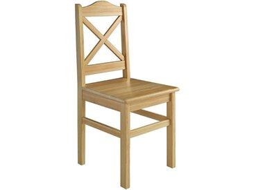 ERST-HOLZ Esszimmerstuhl »Küchenstuhl Massivholzstuhl Esszimmerstuhl Kiefer Stuhl 90.71-20«