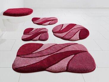 GRUND exklusiv Badematte »Colette« , Höhe 24 mm, rutschhemmend beschichtet, rosa, rosé