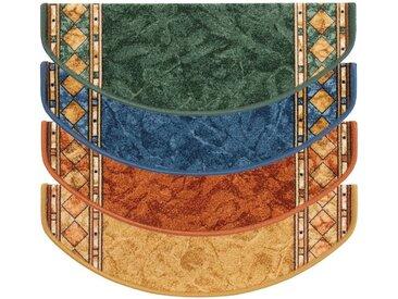 Kubus Stufenmatte »Langeoog«, Halbrund, Höhe 5 mm, beige, Beige