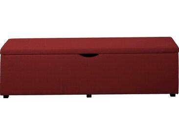 """Places of Style Hockerbank »Standard«, mit Stauraum, Breite 120 cm und 160 cm, orange, Für Bett """"Classico"""", """"Piazza"""", """"Premium"""" und """"Vega"""", rost"""