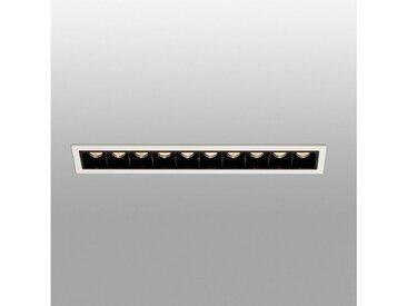 FARO Barcelona LED Einbaustrahler »TROOP 10x2W 3000K IP20 Weiß, Schwarz«