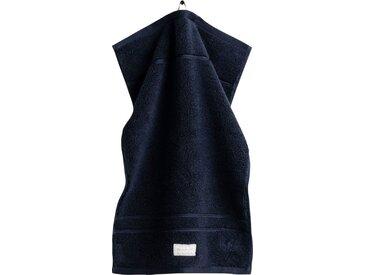 Gant Gästehandtücher »Organic Premium« (3-St), aus 100% Bio-Baumwolle, blau, dunkelblau