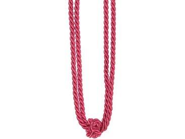 Gerster Raffhalter »Amber«, Gardinen, (1-tlg), rosa, pink