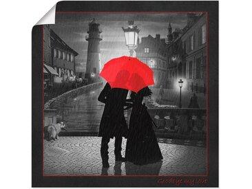 Artland Wandbild »Abschied am Hafen«, Paar (1 Stück), Poster