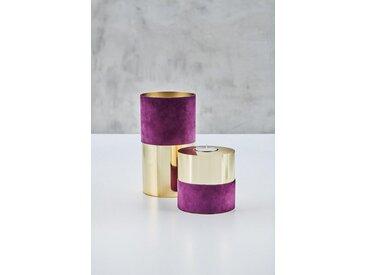 carla&marge Teelichthalter »Teelichthalter Ellischka« (2 Stück), lila, Aubergine