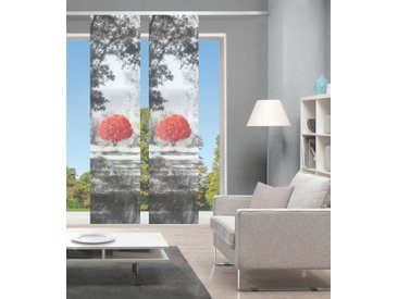 Vision Schiebegardine »AMENO 2er SET«, Paneelwagen (2 Stück), Bambus-Optik, Digital bedruckt