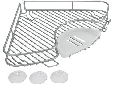 Metaltex METALTEX Duschablage »Corner Eckablage«, Breite 29 cm, silberfarben, silberfarben