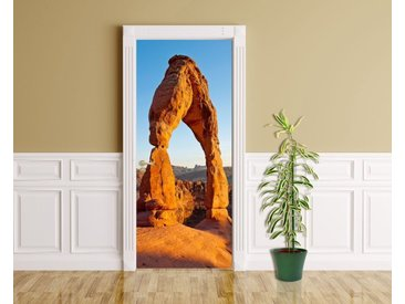 Bilderdepot24 Deco-Panel, Türaufkleber - Delicate Arch