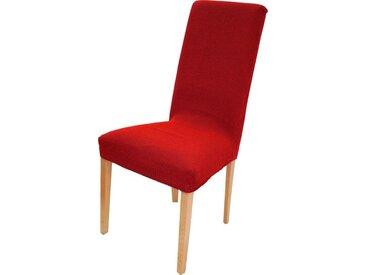 Dohle&Menk Stuhlhusse »Creta«, hochwertige Stretchware, rot, rot