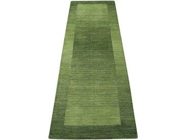 Theko Exklusiv Läufer »Gabbeh Super«, rechteckig, Höhe 9 mm, grün, grün