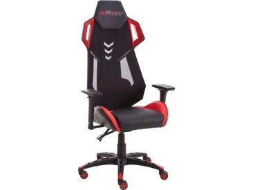 MCA furniture Gaming-Stuhl »mcRACING B1 B2«, schwarz, schwarz/rot