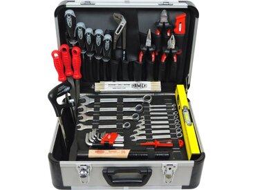 FAMEX Werkzeugkoffer » 729-89 Werkzeugkoffer mit Werkzeugbestückung Werkzeugkasten Werkzeugkiste Qualitätswerkzeug« (1 Stück)