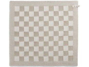 Knit Factory Tischdecke »Küchentuch Block Ecru/Leinen«