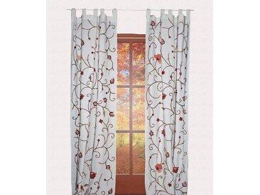 HOSSNER - ART OF HOME DECO Vorhang »Grundlsee«, Schlaufen (1 Stück), rustikaler Shabby-Look