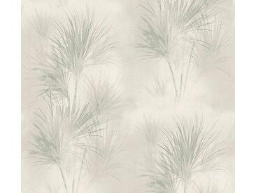 A.S. Création Vliestapete »Exotic Life mit Palmenblättern«, floral, grau, grau