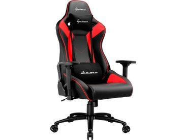Sharkoon Gaming-Stuhl »ELBRUS 3 Gaming Chair«, schwarz, Schwarz