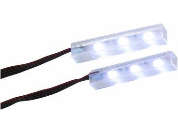trendteam LED Unterbauleuchte, bunt, 2 St., chromfarben