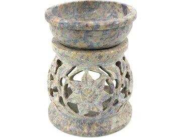 Guru-Shop Duftlampe »Indische Duftlampe, ätherisches Öl Diffusor,..«, Rund Blüte 1