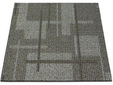 casa pura Teppichfliese »Andorra«, Quadratisch, Höhe 6 mm, Selbstliegend, bunt, Multicolor 02