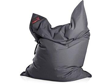 Magma Heimtex Sitzsack »Big Foot«, Indoor / Outdoor geeignet, grau, anthrazit
