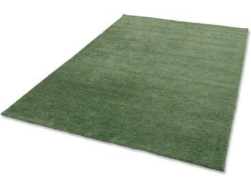 ASTRA Wollteppich »Maria«, rechteckig, Höhe 10 mm, Kurzflor, grün, grün