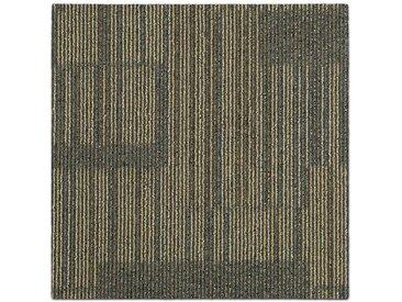 casa pura Teppichfliese »Linz«, Quadratisch, Höhe 6 mm, Selbstliegend, Gemustert, natur, Beige 01