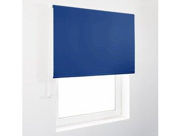 casa pura Verdunklungsrollo »Blackout«, Lichtundurchlässig, blau, Navy-Blau