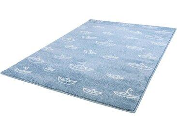 Carpet City Kinderteppich »Bueno Kids 1457«, rechteckig, Höhe 13 mm, Segelboote Motiv, Kurzflor