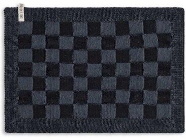 Knit Factory Tischdecke »Tischset Block Schwarz/Granit«