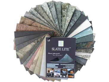 Slate Lite SLATE LITE Set: Dekorpaneele »Muster «, Musterset DIN A6 (39 Dekore), bunt, DIN A6, bunt
