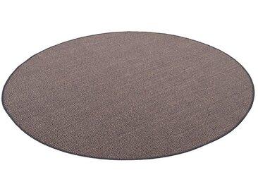 Snapstyle Sisalteppich »Sisal Natur Teppich Rund«, Rund, Höhe 6 mm, Stone Mix