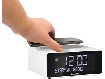 TechniSat »DIGITRADIO 52 Stereo« Radiowecker (Digitalradio (DAB), UKW mit RDS, mit DAB+, Snooze-Funktion, dimmbares Display, Sleeptimer, Wireless Charging)
