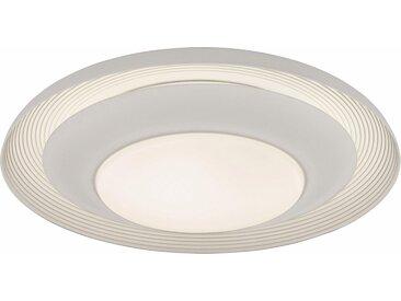 EGLO LED Deckenleuchte »CANICOSA«, Wand- / Deckenleuchte; Stahl, weiss / Kunststoff, weiss Moderne Deckenleuchte Mit 3 verschiedenen Leuchtmöglichkeiten Inklusive LED-Leuchtmittel