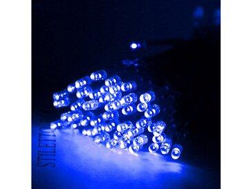 TOPMELON Lichterkette »LED-Lichterkette«, 50-flammig, Batterienbetrieben, blau, 50 St. - 50 St., Blau